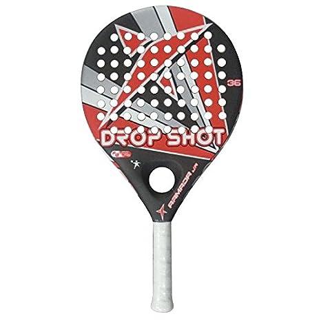 DROP SHOT Armada Jr S/F - Pala de pádel, Color Gris/Naranja/Blanco/Negro, 36 mm: Amazon.es: Deportes y aire libre