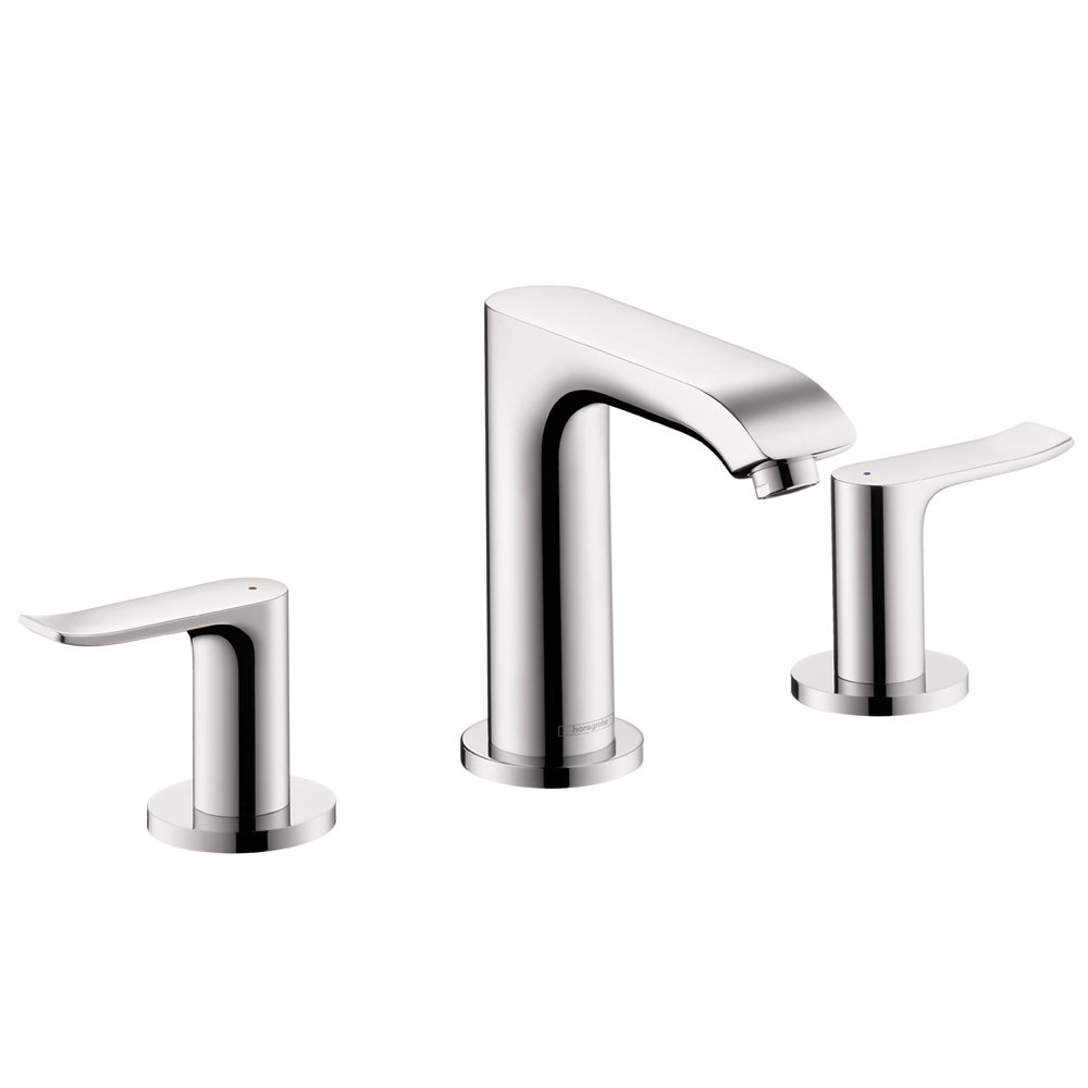 hansgrohe bathroom faucet. Hansgrohe 31083001 Metris 100 Widespread Faucet  Chrome Bathroom Sink Faucets Amazon com