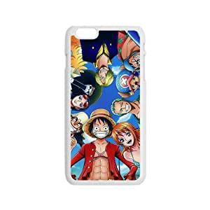 One Piece Cartoon Anime White iPhone 6 Case