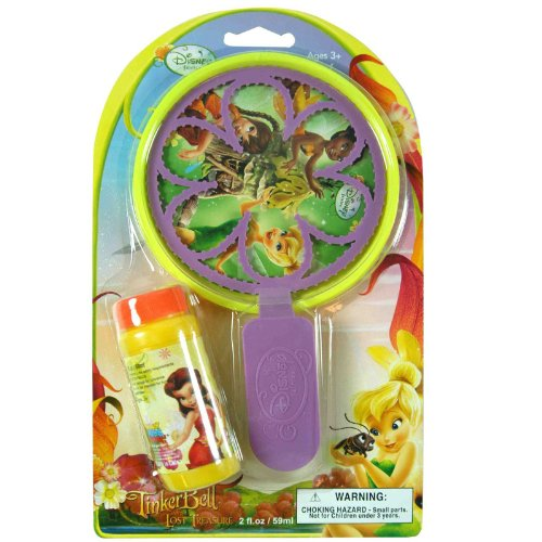 UPD INC - Disney Fairies Bubble Wand and Pan - Standard
