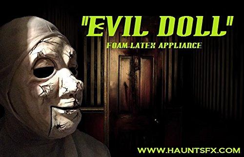 - Evil Doll Foam Latex Appliance