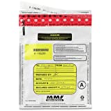 MMF Industries 2362010N06 9-by-12-Inch Tamper-Evident Deposit Bags, 100 Pack (White)
