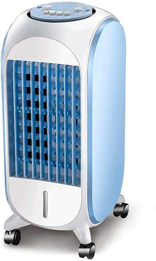 Fan Enfriador de Aire Aire Acondicionado Ventilador refrigerador de Aire hogar Solo Tipo frío Aire Acondicionado silencioso Ventilador de enfriamiento: Amazon.es: Hogar