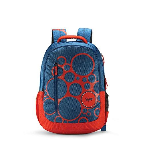 Skybags Bingo 31.878 Ltrs Blue School Backpack (SBBIN04BLU)