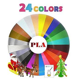 amazon com pla 3d printer filament 1 75mm yiomxhi 24