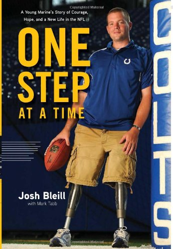 One Step at a Time: A Young Marine's Story of Courage, Hope and a New Life in the NFL Tabb Mark