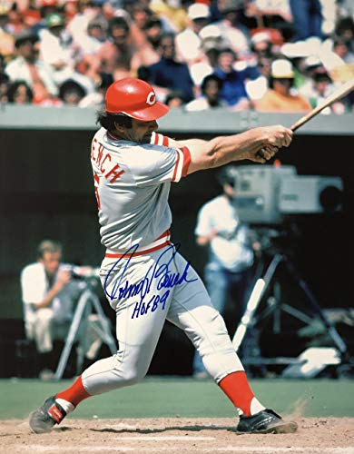 Johnny Bench Cincinnati Reds 16-1 16x20 Autographed Photo - Certified Authentic