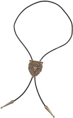 MagiDeal Collar de Corbata Bolo Estilo Vaquero Occidental Vintage ...