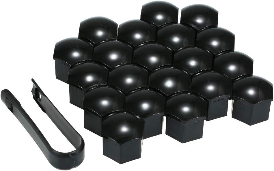 20pcs Universal 19mm Wheel Nut Covers Lug Nut Caps Screw Protector Lug Nut Cover