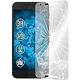2 x Google Nexus 5X Protection Film Tempered Glass clear - PhoneNatic Screen Protectors