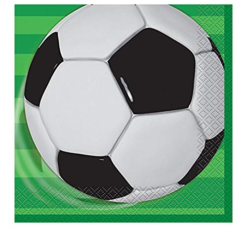 Soccer Party Napkins, 16ct]()