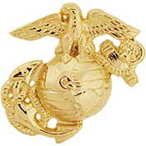 - EagleEmblems P62808 Pin-USMC,Emblem,B7,Left Collar-Gold Type (.875'')