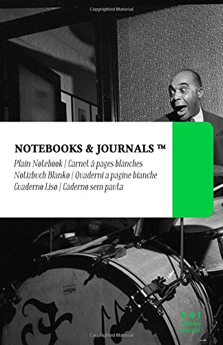 Notebooks & Journals: Cuaderno Liso - Moore (Coleccion Jazz Notes) (13.97 x 21.59 cm) (Spanish Edition) [Notebooks and Journals] (Tapa Blanda)