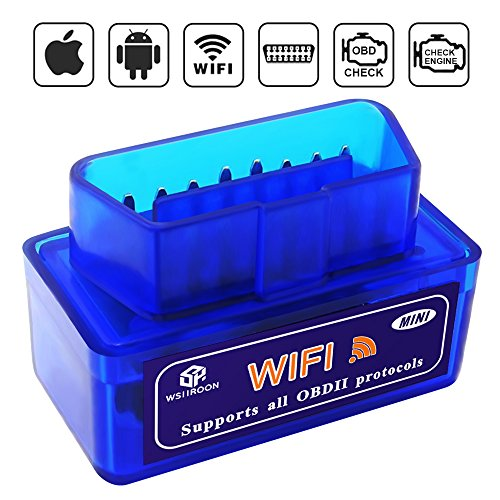 Wsiiroon MINI Diagnostic Scanner Blue