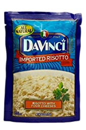 DaVinci Risotto with Four Cheeses, 6.2 Ounce (Pack of 12)