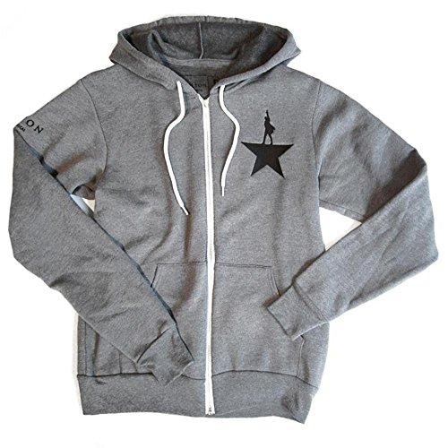 Official Hamilton Grey Zip-Up Hoodie
