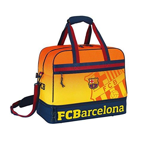 Fc Barcelona Sports Bag with Underneath Storage