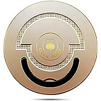 Robot aspirapolvere Cleaner Teepao - Cleaner Floor CleanerSistema di Pulizia ad Alte Prestazioni con Dirt Detect, Adatto a Pavimenti e Tappeti, Ottimo per i Peli Degli Animali Domestici, (Oro)
