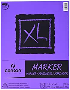 "Canson XL Series Marker Pad, 9""X12"" Fold Over"