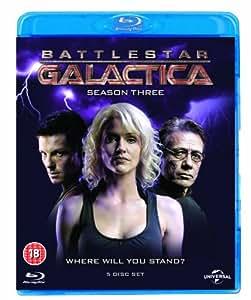 Battlestar Galactica: Season 3 [Region-Free][Blu-ray]