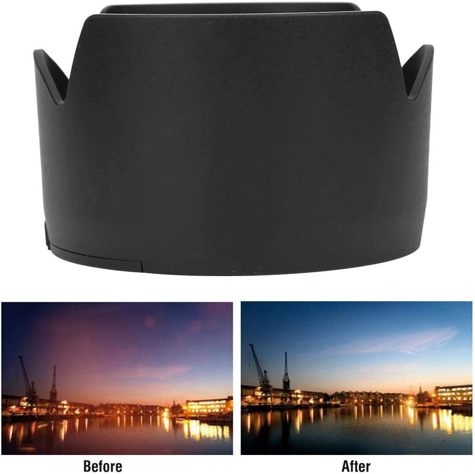 HB-31 Anti-Scratch Lens Protector Camera Mount Lens Hood Shade for Nikon AF-S DX 17-55mm f//2.8G Lens Tosuny Lens Hood for Nikon Suitable for Backlight Photography
