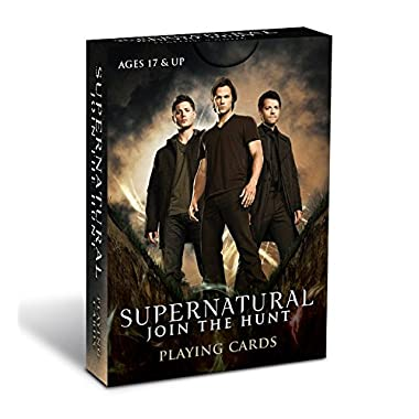 Supernatural Playing Cards Card Game