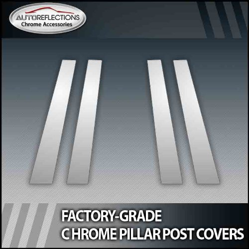 06.5-08 KIA Optima 4Pc Chrome Pillar Post Covers