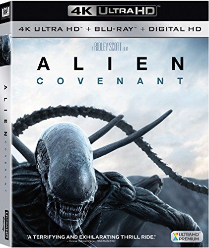 4K Blu-ray : Alien: Covenant (With Blu-Ray, 4K Mastering, Digitally Mastered in HD, 2 Pack, Dolby)