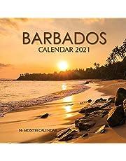 Barbados Calendar 2021: 16 Month Calendar