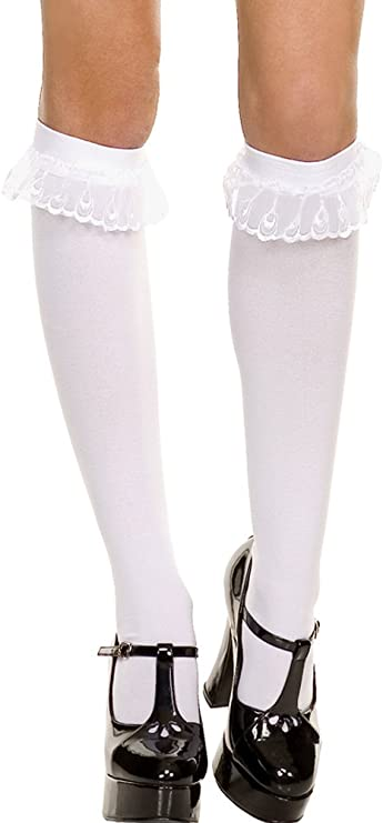 Music Legs Hosiery Gothic Graphic Opaque Pantyhose One Size Fits Most 37396