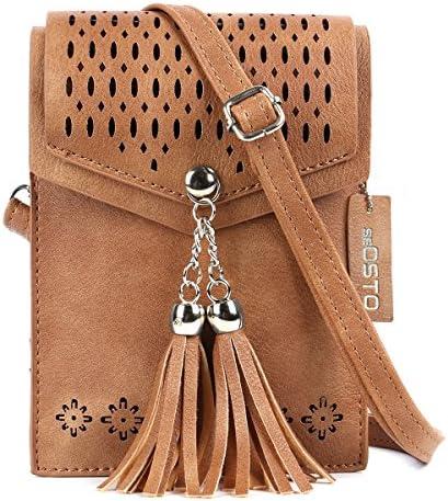 seOSTO Women Crossbody Tassel Wallet product image