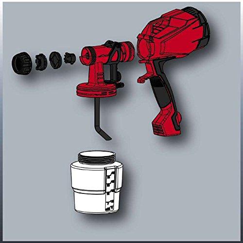 Pintura, 0,8 L, 0,5 l//min, Negro, Rojo, 275 mm, 128 mm Pulverizadores de pintura Einhell TC-SY 400 P 0.8L