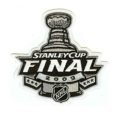 2009 Stanley Cup Patch - Pittsburgh Penuins vs Detroit Red Wings - Official Licensed