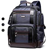 Bopai Backpack with Water Bottle Holder and Laptop Compartment Travel Outdoors Rucksack Multifunctional 15.6'' Laptop Backpack Blue