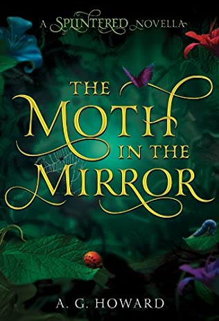 book cover of   The Moth in the Mirror