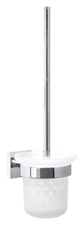 Scopino wc tesa Ekkro, metallo cromato lucido, tecnologia autoadesiva di montaggio, 390mm x 116mm x 147mm 40233-00000-00