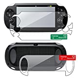 Everydaysource [3 Pack Valued Combo] - For SONY PlayStation Vita PCH-1000 (PS Vita) Full Body Reusable Screen Protector