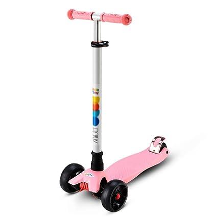 Patinete- Scooter para niños Cuatro Rondas Flash Scooter ...