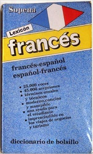 Descargar libros de francés ibooks Lexicon Frances-Español (rustica) PDF