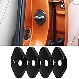 8X-SPEED Car Door Lock Cover For Honda CR-Z edition insight JAZZ Pilot S2000 Toyota GT86 Alphard tundra Aygo(2014-2016) auris avensis avalon 4pcs car styling
