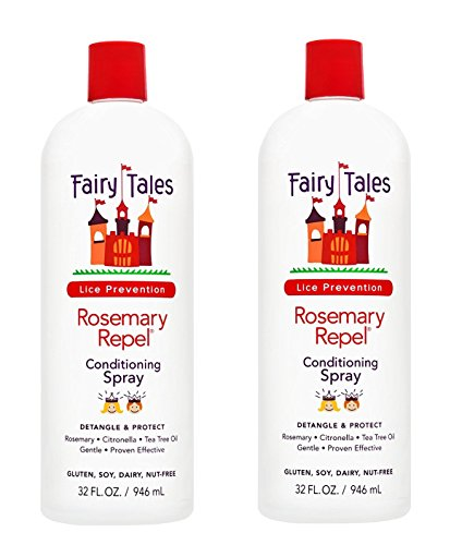 - Fairy Tales Rosemary Repel Leave in Conditioning Spray Refill | 32 fl. oz. | 2-pack
