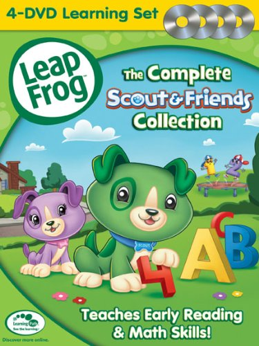 Leapfrog: The Complete Scout & Friends Collection [DVD] (Set Leapfrog)