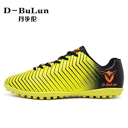 Xing Lin Chaussures De Football Nouveau Adolescent Girl Broken Chaussures De Football, Jaune, 35