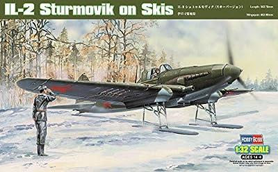 Hobby Boss IL-2 Sturmovik on Skis Airplane Model Building Kit