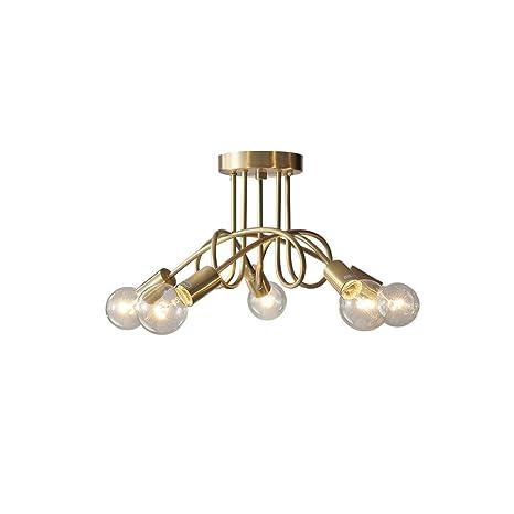 Lámpara de techo Postmodern Diseño simple Lámpara de techo ...