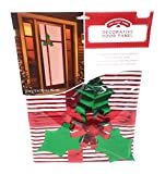 Christmas Holiday Mistle Toe Door Cover Panel
