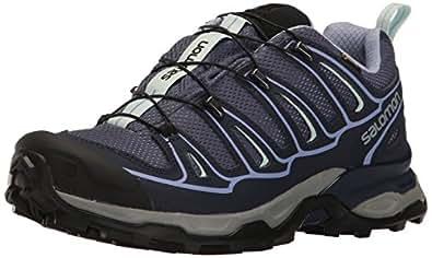 Salomon Women's X Ultra 2 GTX W Hiking Shoe, Crown Evening Blue/Easter Egg, 5 M US