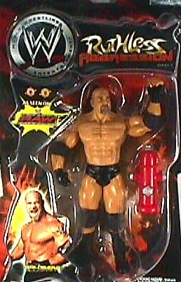 WWE Jakks Pacific Wrestling Action Figure Ruthless Aggression Series 4 Goldberg