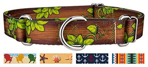 - Country Brook Petz | Gaia's Grove Martingale Dog Collar - Medium