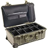 Product review for Pelican 1510 Laptop Overnight Case With Padded Dividers (OD Green)